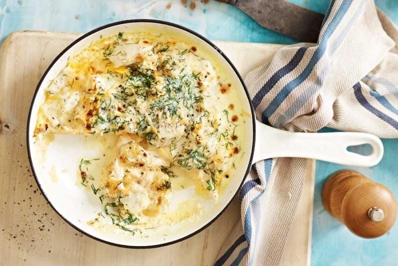 receita omelete com peixe