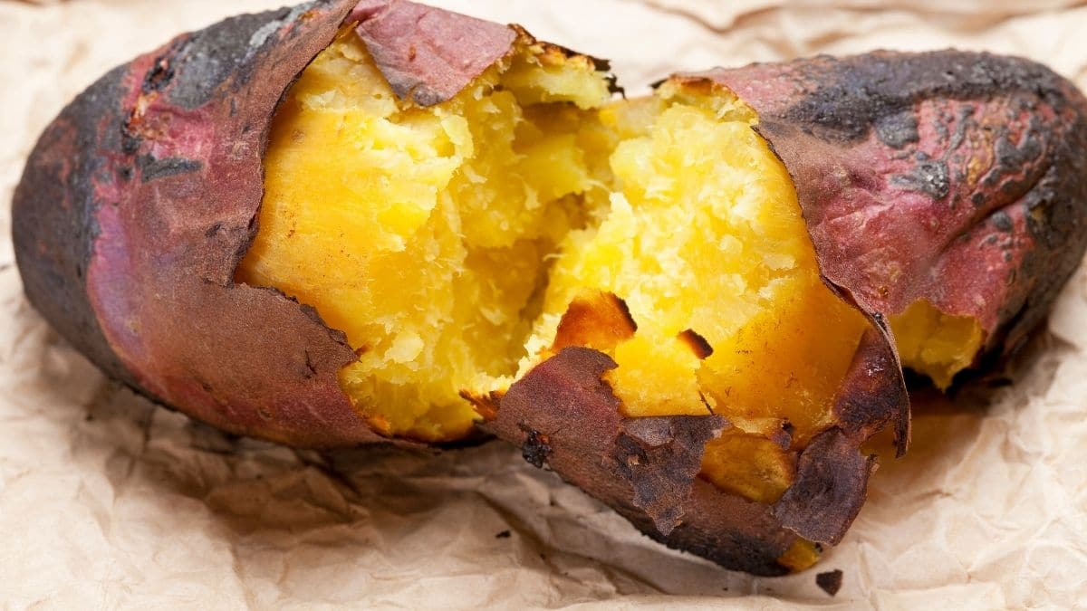 como cozinhar batata doce